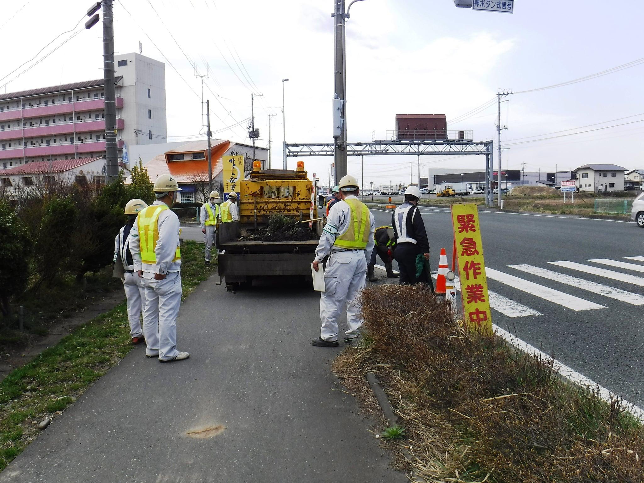 街渠桝清掃