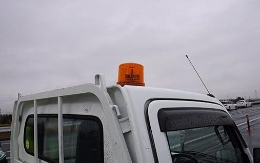 維持補修工事 水沢緊急看板設置 作業状況確認
