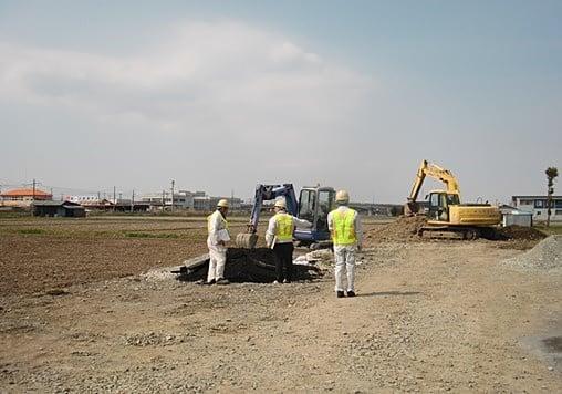 鐙田下水 作業状況2