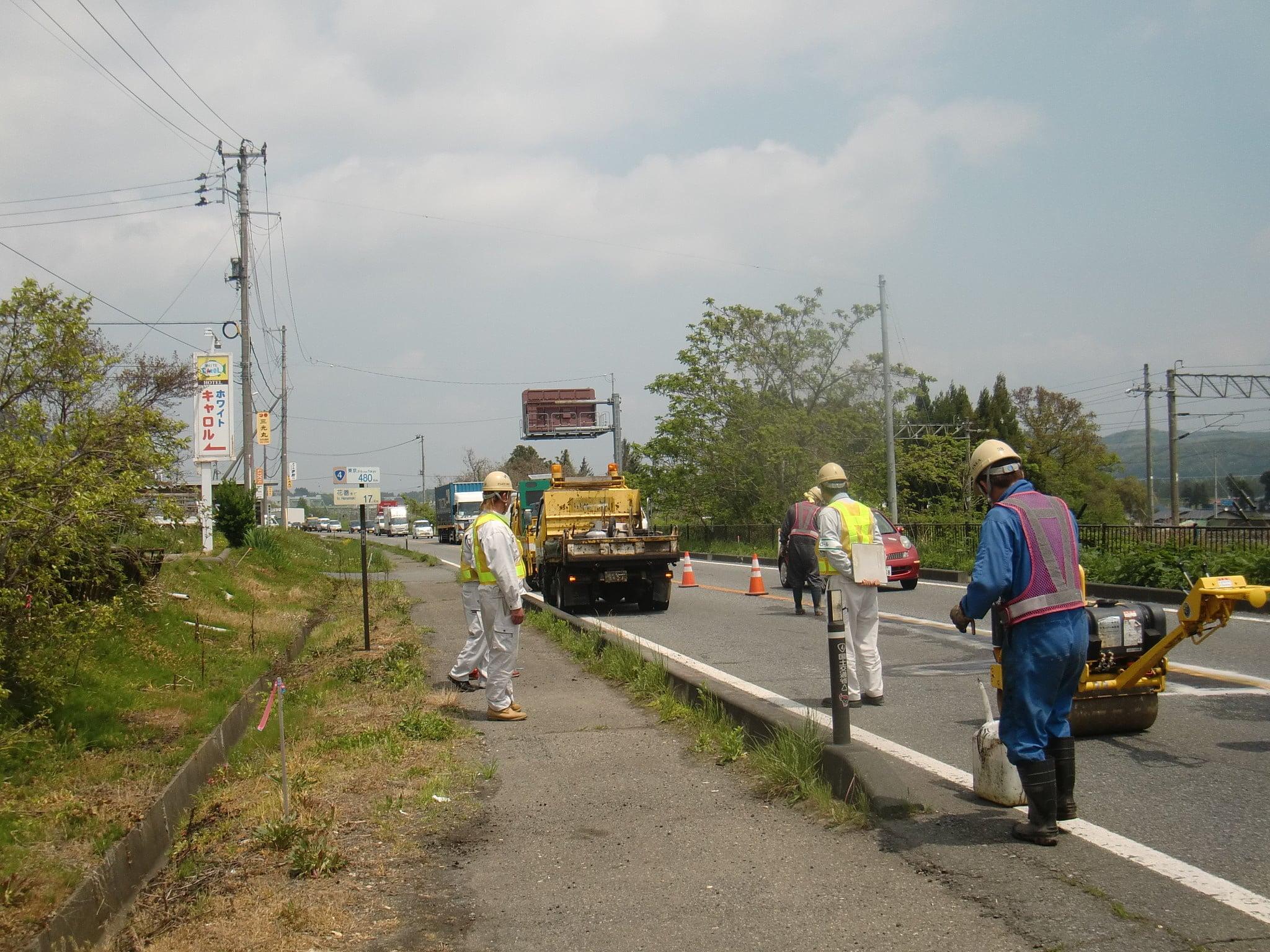 路面補修パッチング